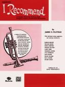 I Recommend Cornet by James Ployhar