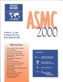 ASMC 2000 Proceedings by IEEE/SEMI Advanced Semiconductor Manufacturing Conference and Workshop (11th 2000 Boston, Massachusetts)