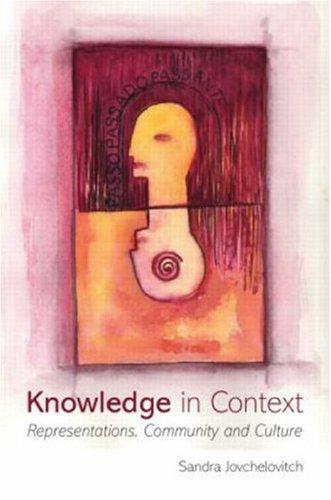 Knowledge in Context by Sandra Jovchelovitch