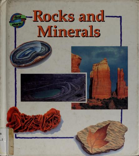 Rocks and minerals by Keith Lye