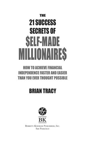 21 Success Secrets by Brian Tracy