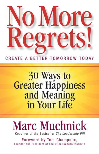 No More Regrets by Marc Muchnick