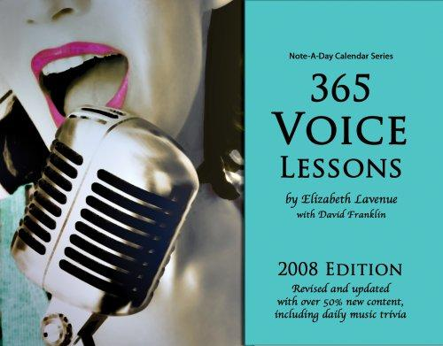 365 Voice Lessons by Elizabeth Lavenue with David Franklin