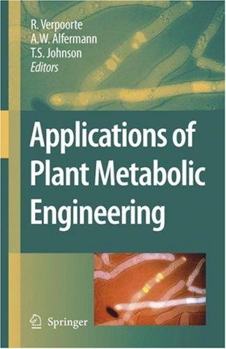 Applications of Plant Metabolic Engineering by