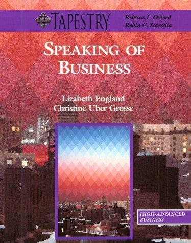 Speaking of business by Lizabeth England, Christine Uber Grosse