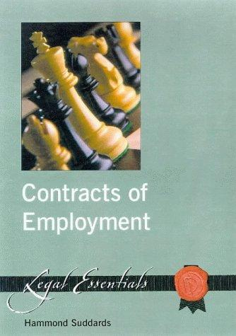 Contracts of Employment by Hammond Suddards