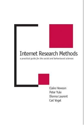 Internet research methods by
