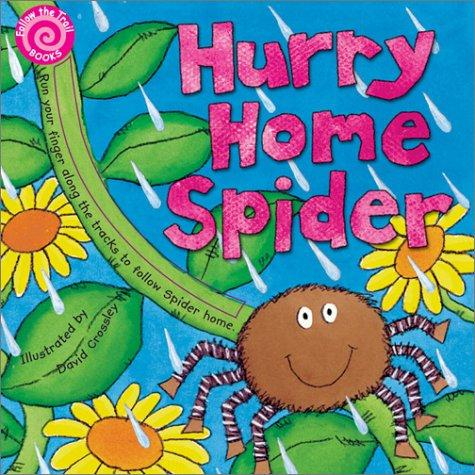 Hurry home spider by David Crossley