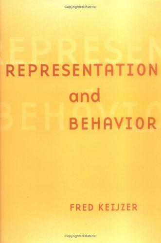 Representation and behavior by Fred A. Keijzer