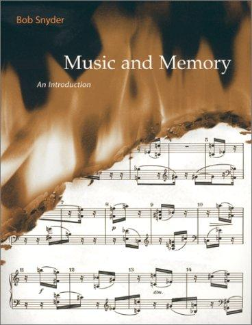 Music and Memory by Bob Snyder