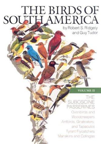 The birds of South America by Robert S. Ridgely