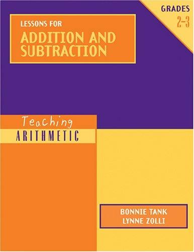Image 0 of Teaching Arithmetic: Lessons for Addition and Subtraction Grades 2-3