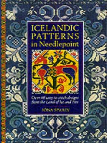 Icelandic Patterns in Needlepoint by Jona Sparey