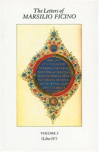 Letters of Marsilio Ficino
