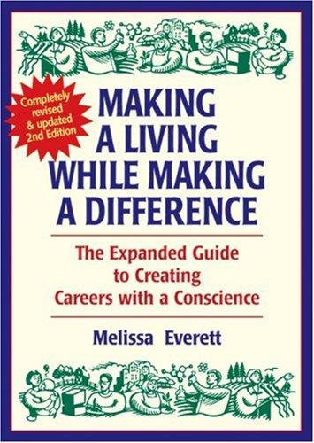 Making a living while making a difference