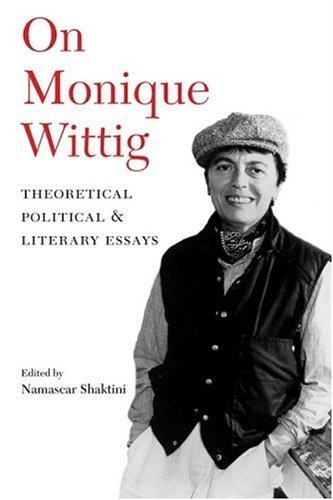 On Monique Wittig