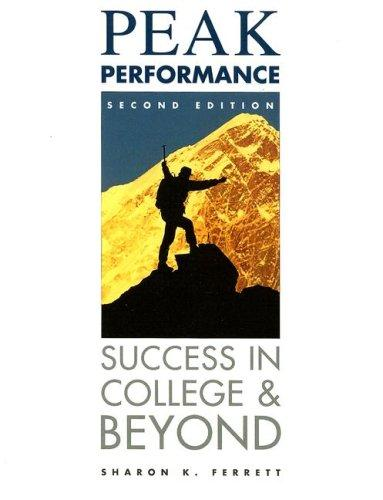 Peak performance by Sharon K. Ferrett