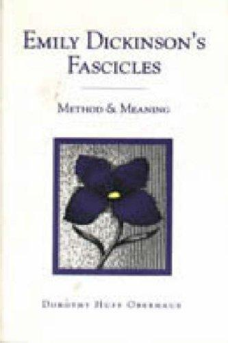 Emily Dickinson's fascicles