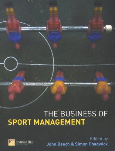 The business of sport management by