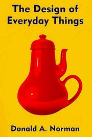 Book cover for Design of Everyday Things by Donald A. Norman