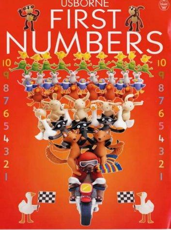 Usborne First Numbers (Everyday Words) by Jo Litchfield, Felicity Brooks