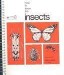 Image 0 of How to Know the Insects (Pictured Key Nature Series)