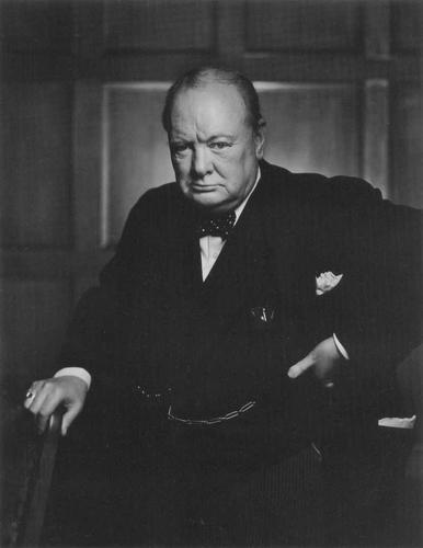 Photo of Winston S. Churchill