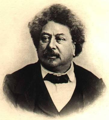 Photo of Alexandre Dumas