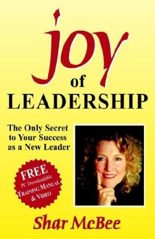 Joy of Leadership by Shar McBee