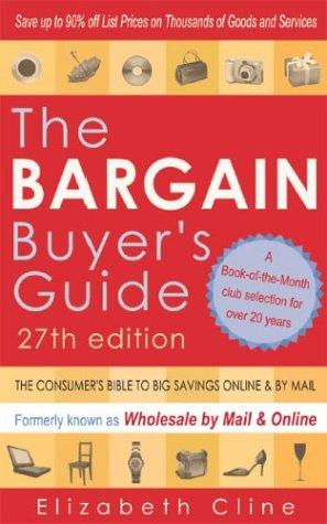 The Bargain Buyer's Guide by Elizabeth Cline