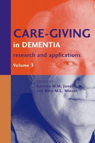 Care-Giving in Dementia