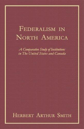 Federalism in North America