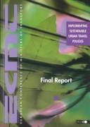 Implementing sustainable urban travel policies : final report by Organisation for Economic Co-operation and Development